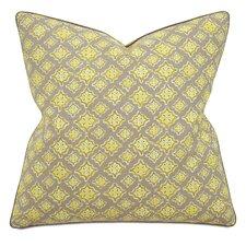 Fairfield Kemal Citron Square Cotton Throw Pillow