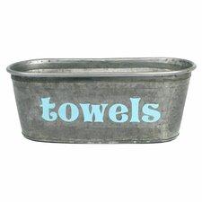 """""""Towels"""" Tub"""