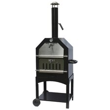 Steel Pizza Oven and Smoker