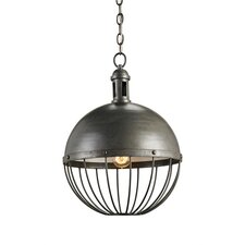 Verne 1 Light Globe Pendant