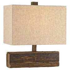 "Structure 16"" H Table Lamp with Rectangular Shade"