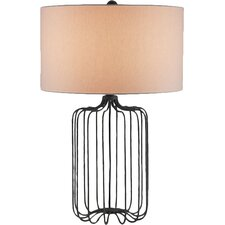 "Furlong 28"" H Table Lamp with Drum Shade"