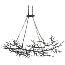 Rainforest 14 Light Candle Chandelier