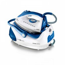 2400W Steam Generator Iron in White/Blue