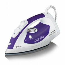 2400W Steam Iron in Plum