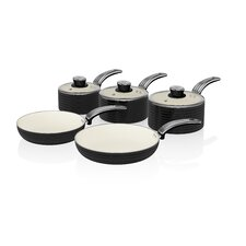 Swan 5-Piece Non-Stick Cookware Set