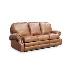 Longhorn Leather Reclining Sofa