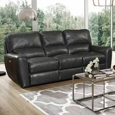 Stratford Power Reclining Leather Sofa