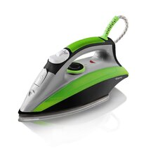 2200W Steam Iron in Green / Black