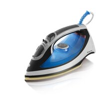2600W Steam Iron in Blue / Black