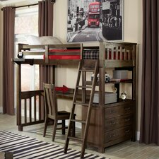 Highlands Loft Bed with Storage