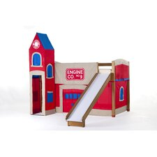 School House Firehouse Loft with Slide