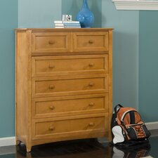 School House Five Drawer Chest
