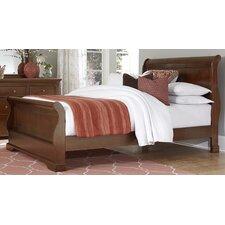 Walnut Street Sleigh Bed