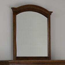 Walnut Street Arched Dresser Mirror