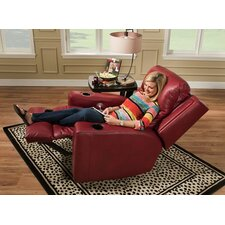 Curve Recliner and Ottoman