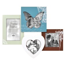 Maderia Décor I 4 Photo Wall Picture Frame