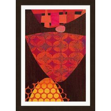 Merengue by Rex Ray Framed Graphic Art