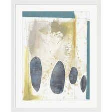 Kismet II by Jennifer Goldberger Framed Painting Print