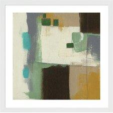 Respite I by Jennifer Goldberge Framed Painting Print