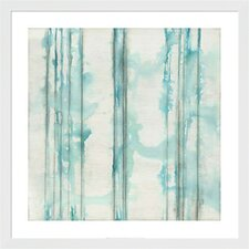 Visible Sound II by Jennifer Goldberger Framed Painting Print