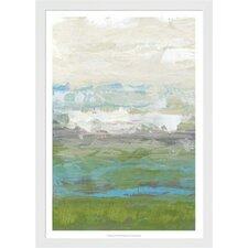 Heather Seas I by Jennifer Goldberger Framed Painting Print