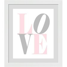 Love Framed Art