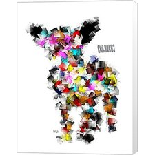 Chihuahua Graffiti by Bri Buckley Graphic Art on Wrapped Canvas