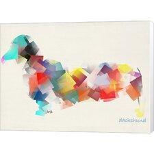 Dachshund by Bri Buckley Graphic Art on Canvas