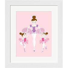 Ballerina and Twins Framed Art