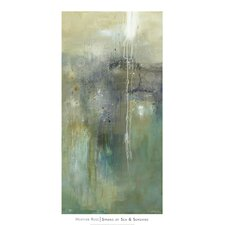Sparks of Sea and Sunshine by Heather Ross Painting Print