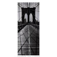 Across the Brooklyn Bridge by Henri Silberman Photographic Print