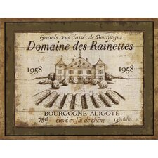 French Wine Labels III by Daphne Brissonnet Vintage Advertisement