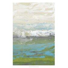 Heather Seas II by Jennifer Goldberger Painting Print