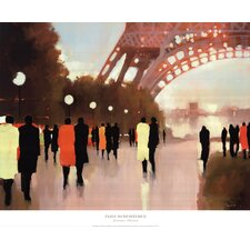 Paris Remembered by by Lorraine Christie Painting Print