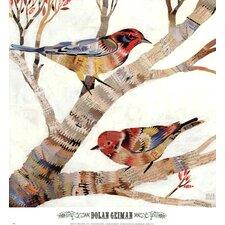 """""""Warblers II"""" by Dolan Geiman Painting Print"""