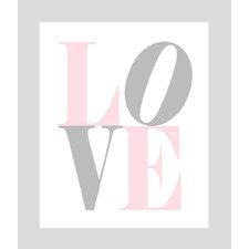 Love Paper Print