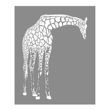 Giraffe Paper Print