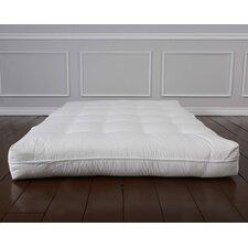 "Luxury Cotton 8"" Foam Core Futon Mattress"