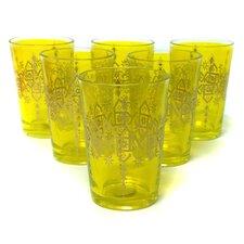 Souad Moroccan Tea Glass (Set of 6)