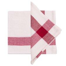 Corner Cross Linen Napkin (Set of 4)
