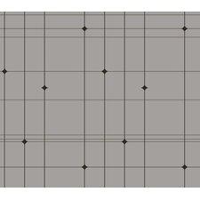 "Thermoscad 33' x 20.5"" Plaid Wallpaper"