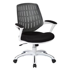 Ave Six Calvin Mid-Back Mesh Task Chair with Arms
