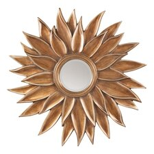 Orleans Sunflower Decorative Beveled Wall Mirror