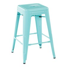 "Patterson 24"" Bar Stool (Set of 2)"
