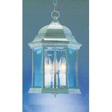 3 Light Outdoor Hanging Lantern