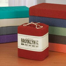 Brooklyn Flat Extra Soft Jersey Sheet Set