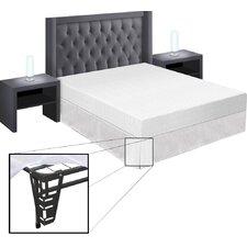 "8"" Memory Foam Mattress and Bed Frame Set"