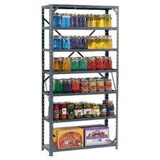 "Hom-E-Quip 60"" H Steel Seven Shelf Canning Shelving Unit"