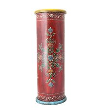 Hand-painted Wooden Umbrella Stand